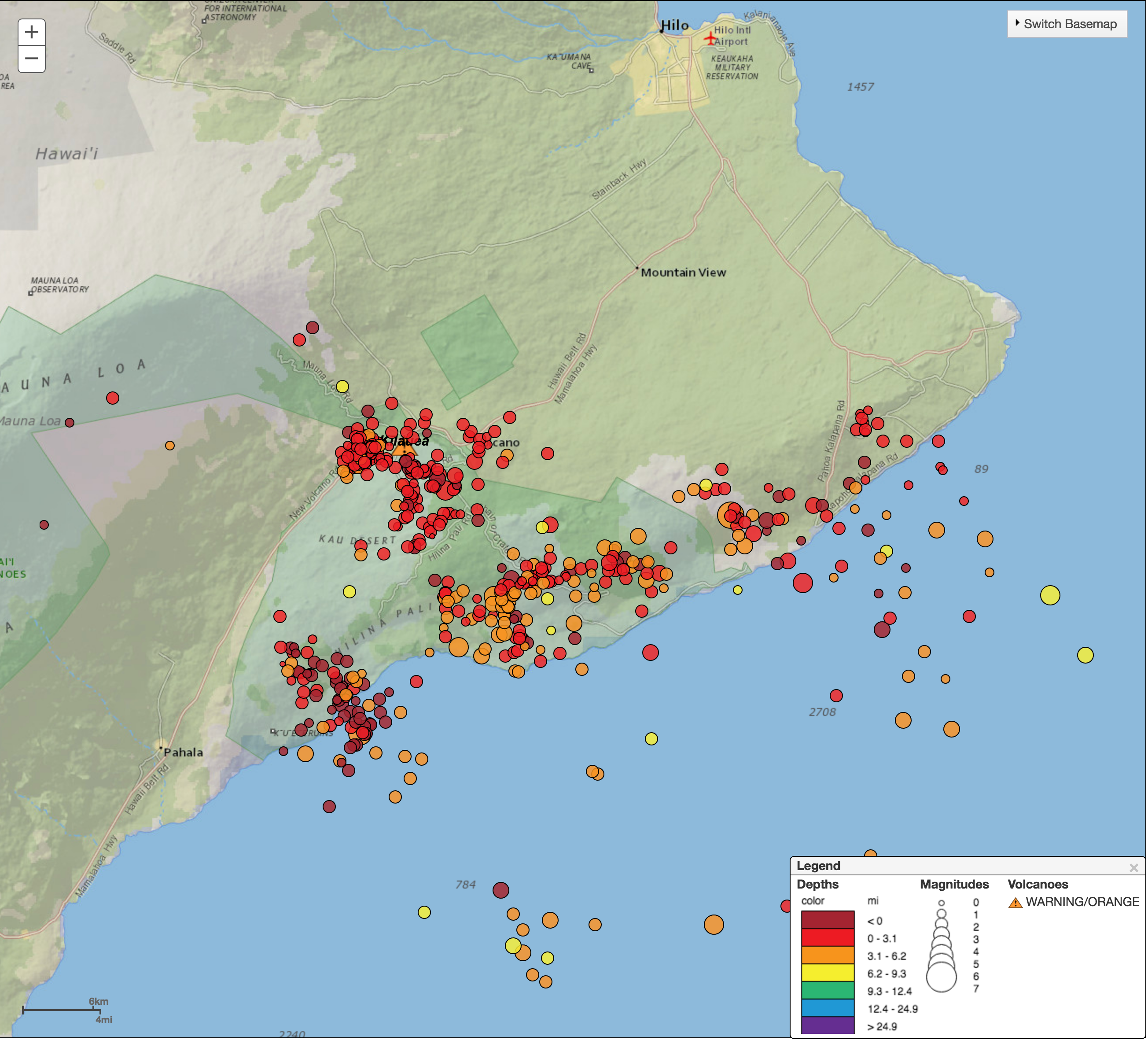 U.S. Geological Survey Hawaiian Volcano Observatory
