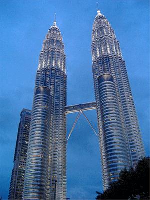 petronas towers 1 and 2