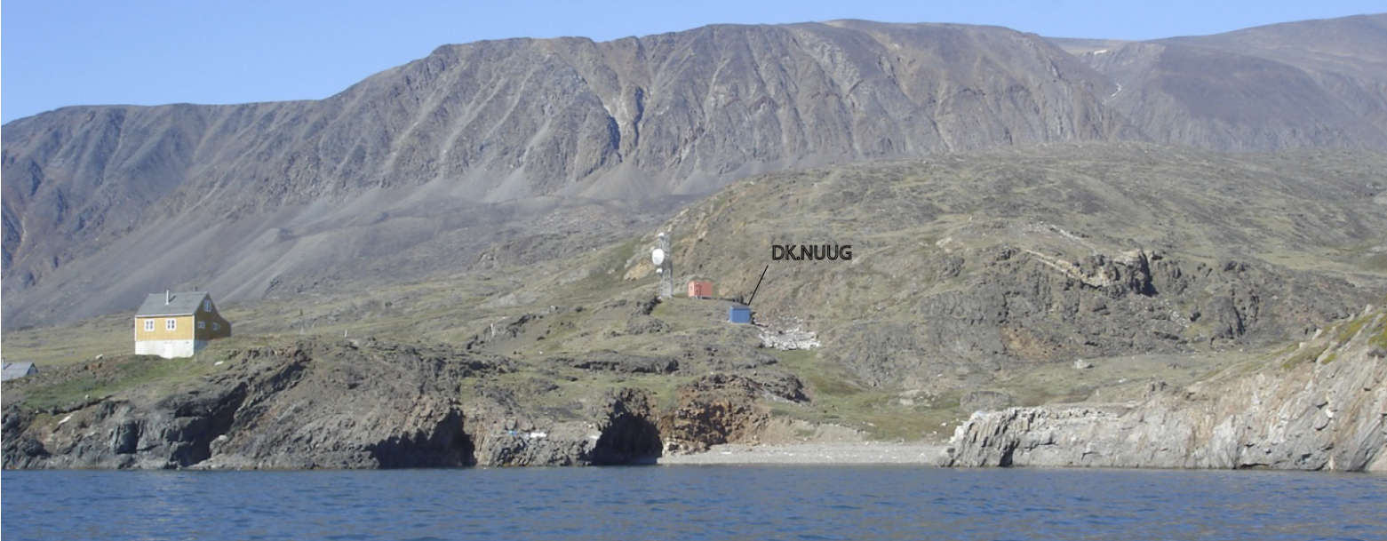Photo of NUUG seismic station