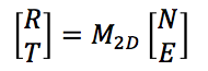 Two-D equation