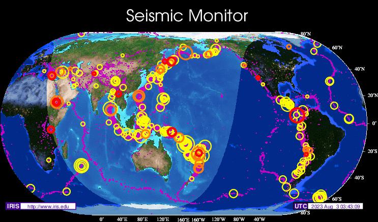 Seismic Map
