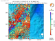 Background previous seismicity within 100 km depth